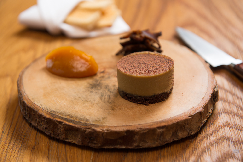 Elements_Foie Gras and Cocoa Terrine, caramelised shitake, ume and brioche