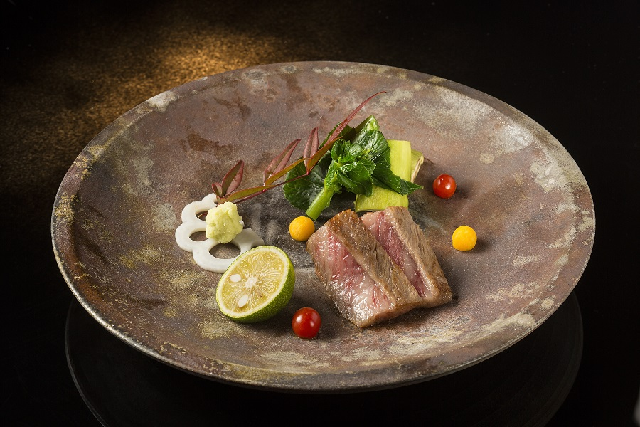 Shinji by Kanesaka Restaurant located in the Crown Hotel, City of Dreams Macau.