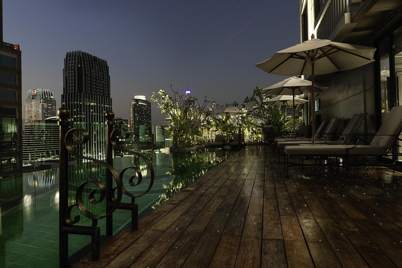 02.Pool at Hotel Muse Bangkok