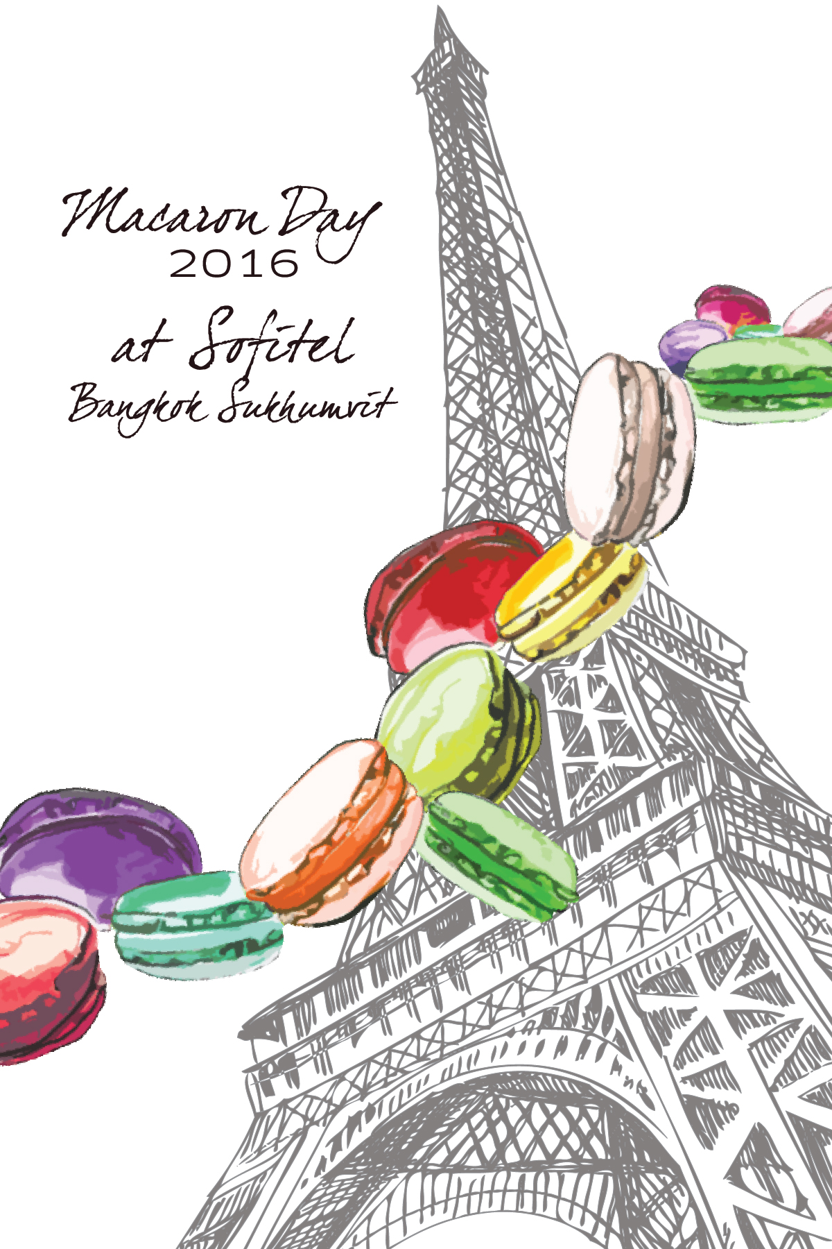 "For the Love of Sumptuous Macarons_Macaron Day 2016"" at Sofitel Bangkok Sukhumvit"