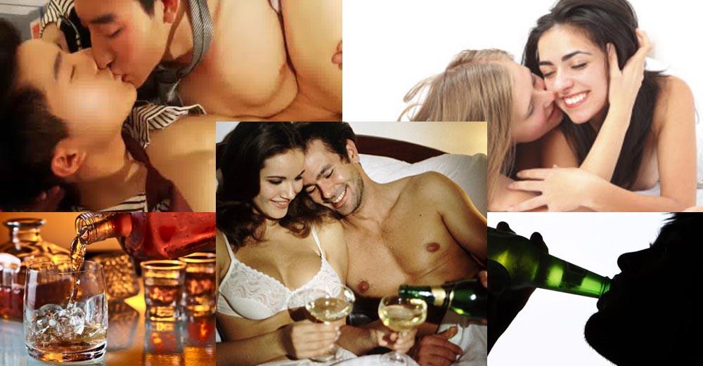 ดื่มกับเซ็กส์ แอลกอฮอล์ดื่มเป็น…เห็นประโยชน์ ดื่มไม่คิดชีวิตบนเตียงพัง