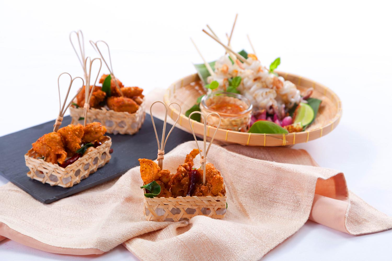 Thai Street Food Style Tapas (Aug&Sep)