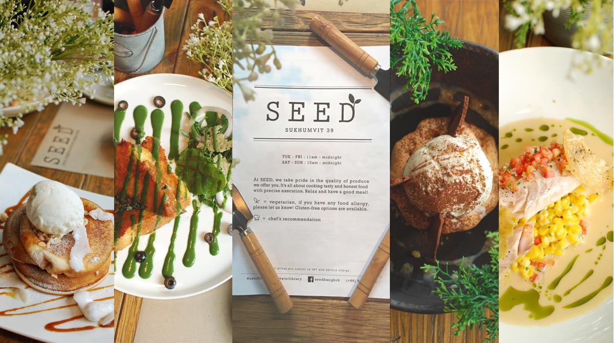 "Review Seed restaurant. Delicious, chill, lovely atmosphere under concept ""Farm to Table"" Open for lunch and meet new menus!"